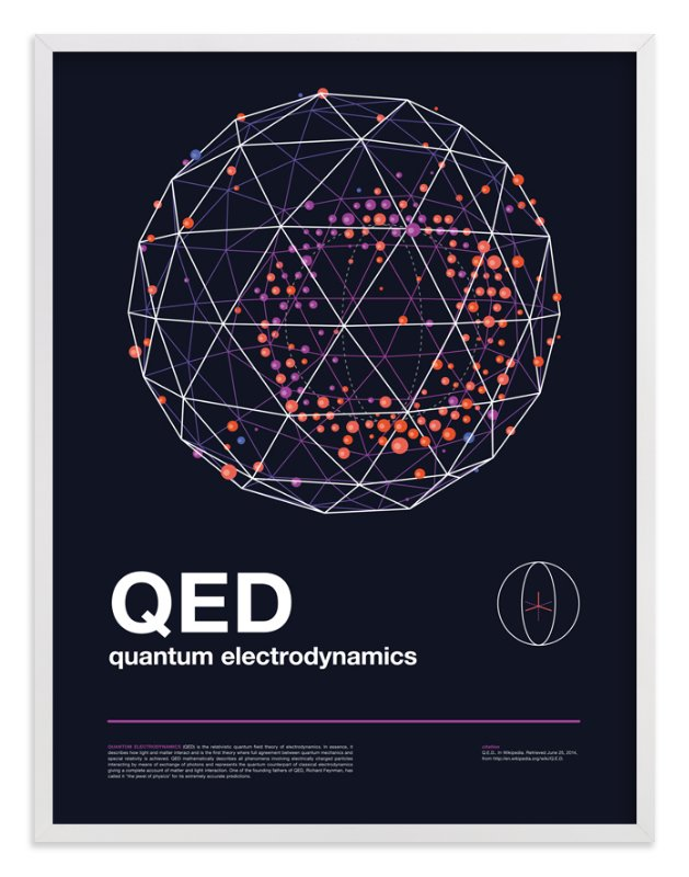 """""""QED 05"""" - Art Print by Tyler Tea in beautiful frame options and a variety of sizes."""