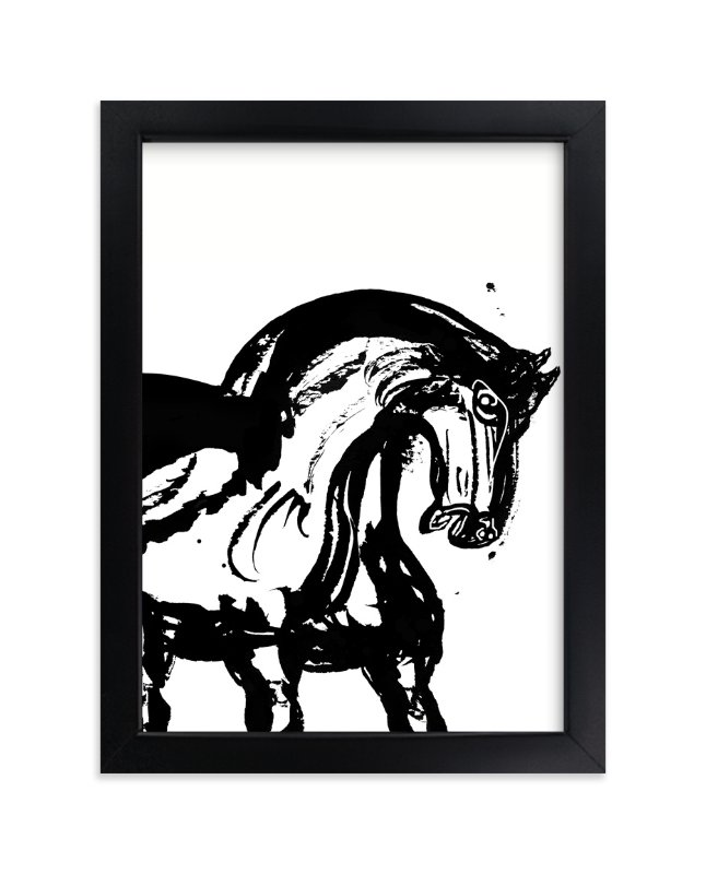 """Wild Horses"" - Art Print by Stuart Heir in beautiful frame options and a variety of sizes."