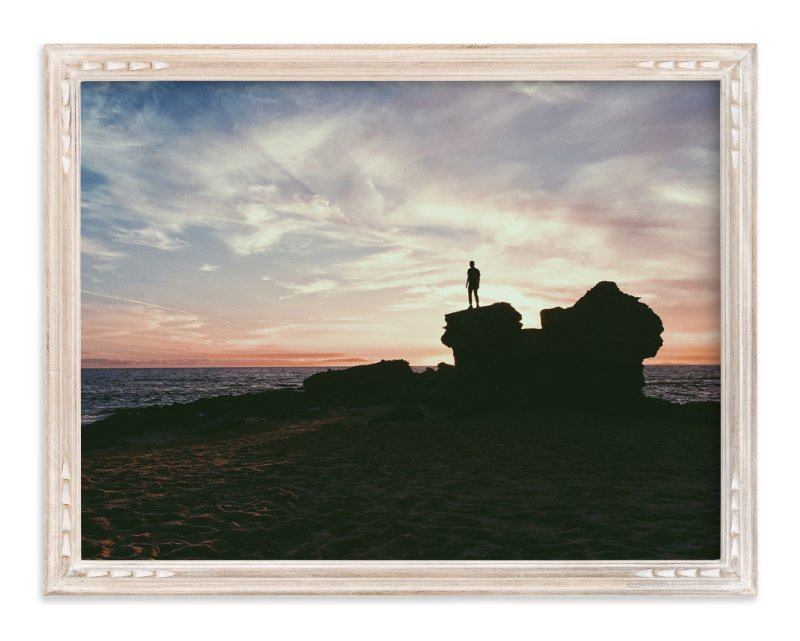"""""""Lookout"""" - Art Print by Christian Florin in beautiful frame options and a variety of sizes."""
