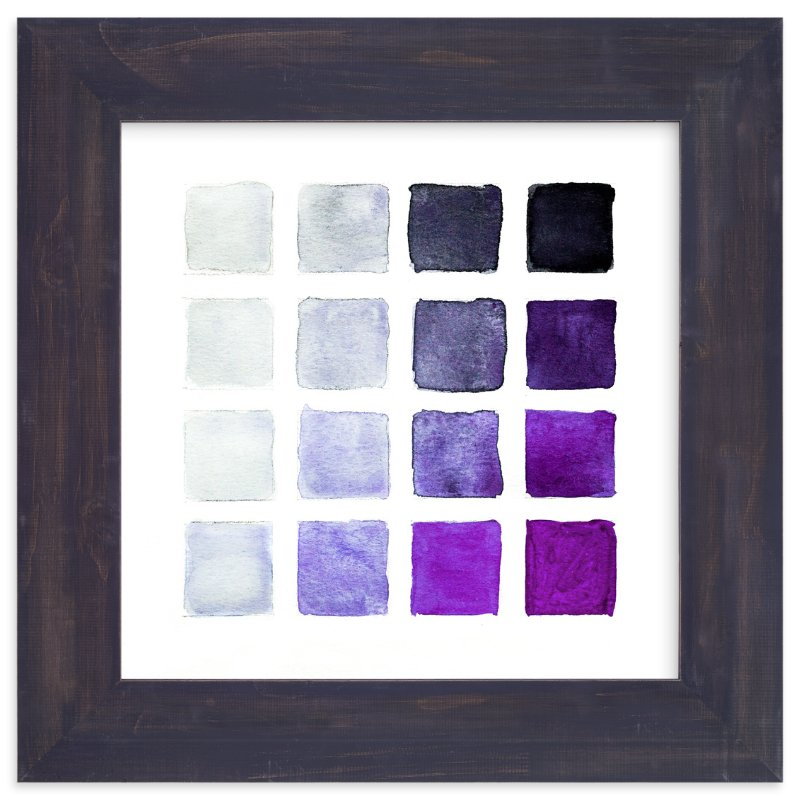 """""""Shades of Grape"""" - Art Print by Stacy Kron in beautiful frame options and a variety of sizes."""
