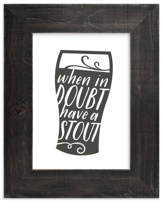 """Have a Stout"" - Art Print by Jessie Steury in beautiful frame options and a variety of sizes."