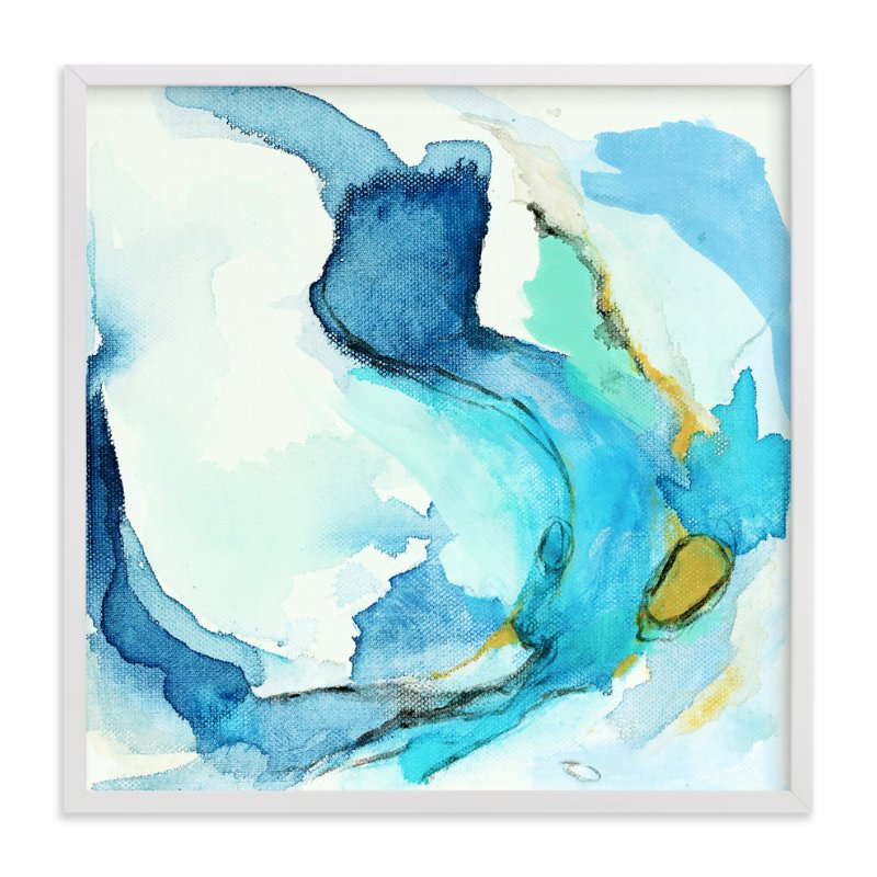 """Tide Pool #2"" - Art Print by Mya Bessette in beautiful frame options and a variety of sizes."
