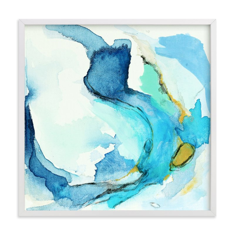 """""""Tide Pool #2"""" - Art Print by Mya Bessette in beautiful frame options and a variety of sizes."""
