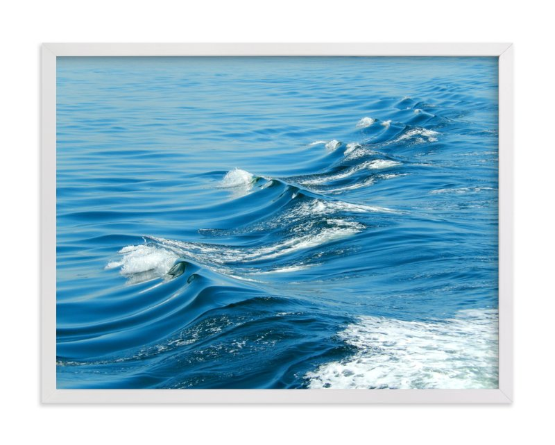 """Wake"" - Art Print by Jan Kessel in beautiful frame options and a variety of sizes."