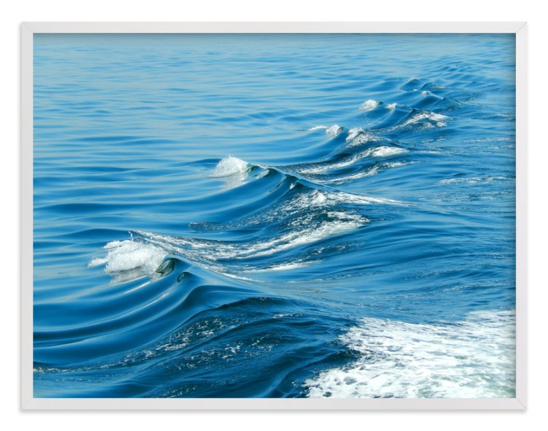 """""""Wake"""" - Art Print by Jan Kessel in beautiful frame options and a variety of sizes."""