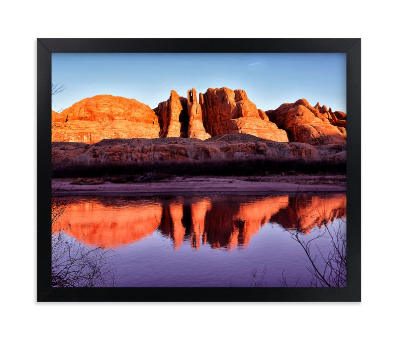 """""""Last Call"""" - Art Print by Michelee Scott in beautiful frame options and a variety of sizes."""