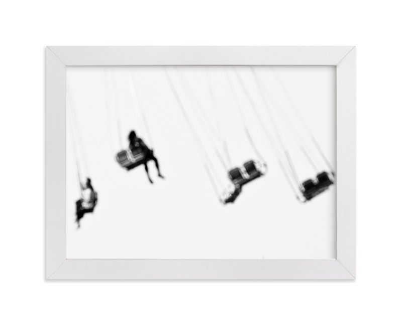 """""""Coney Island"""" - Art Print by Kaitlin Rebesco in beautiful frame options and a variety of sizes."""