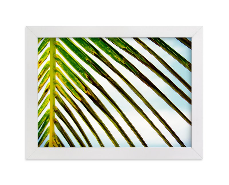 """""""PALM PALM"""" - Art Print by Kris Markus in beautiful frame options and a variety of sizes."""
