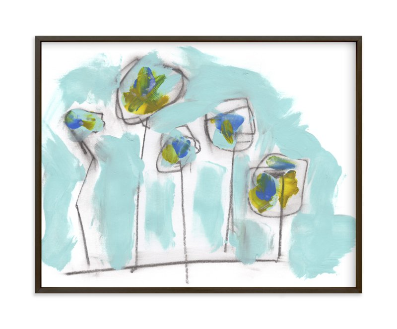 """""""Hymnody"""" - Art Print by Misty Hughes in beautiful frame options and a variety of sizes."""