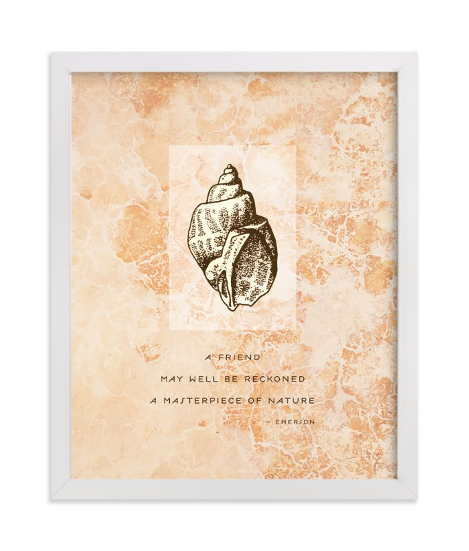"""""""Masterpiece of Nature - Emerson"""" - Art Print by Debb W in beautiful frame options and a variety of sizes."""