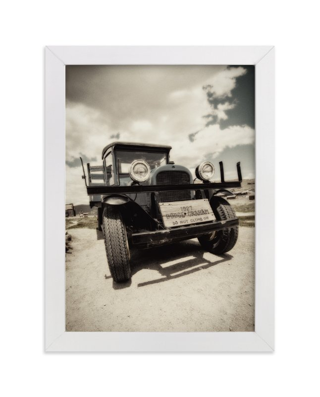 """Cars of Bodie, CA :: I"" - Art Print by Kellie Medivitz in beautiful frame options and a variety of sizes."