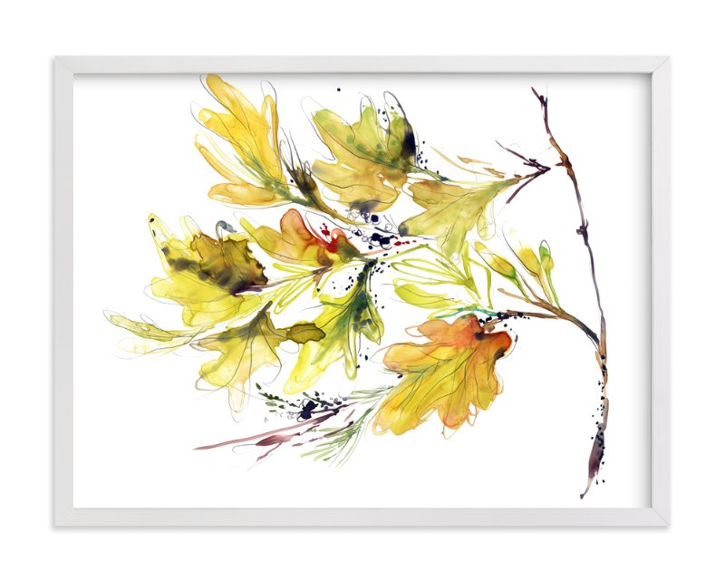 """""""Bounty"""" - Art Print by Kelly Ventura in beautiful frame options and a variety of sizes."""