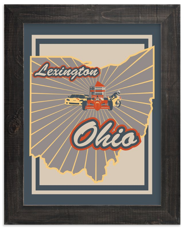 """""""Lexington Ohio"""" - Art Print by Nathan Poland in beautiful frame options and a variety of sizes."""