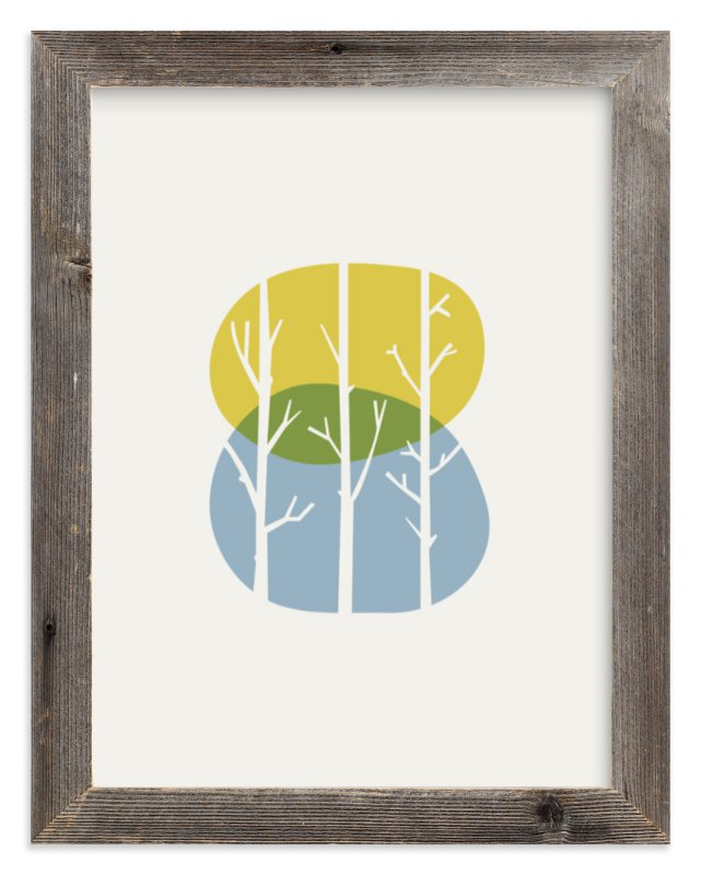 """""""Nature Balance"""" - Art Print by iamtanya in beautiful frame options and a variety of sizes."""