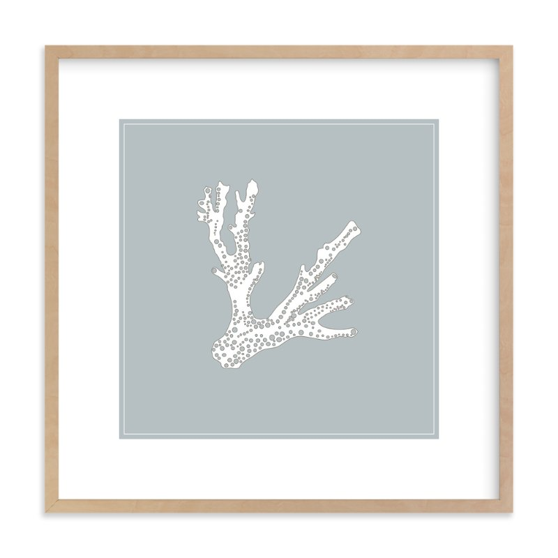 """""""the sea series - 101"""" - Art Print by Erin Deegan in beautiful frame options and a variety of sizes."""