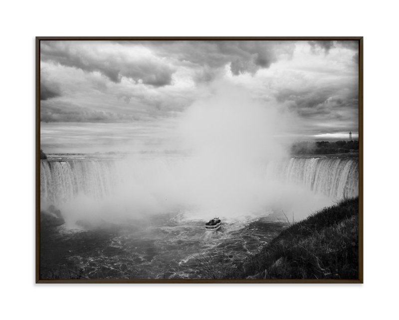 """""""Niagara"""" - Art Print by Catherine Segura in beautiful frame options and a variety of sizes."""