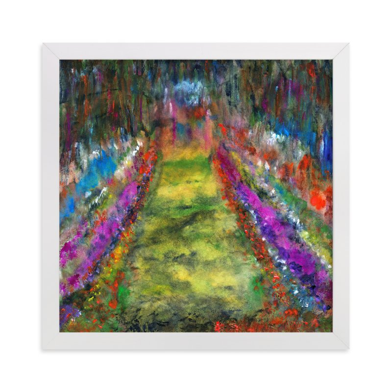 """Walk this way"" - Art Print by Stuart Heir in beautiful frame options and a variety of sizes."