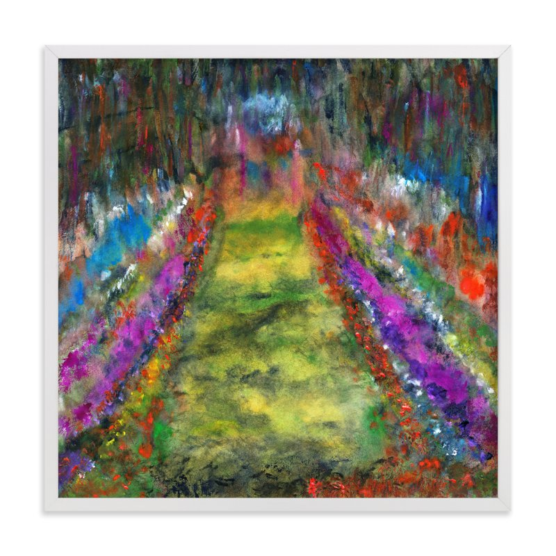 """""""Walk this way"""" - Art Print by Stuart Heir in beautiful frame options and a variety of sizes."""