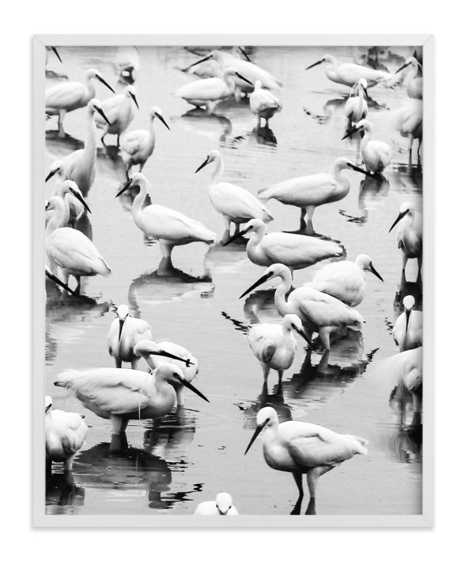 """""""Migratory Birds Part 3"""" - Art Print by Hello Sophie Design Lab in beautiful frame options and a variety of sizes."""