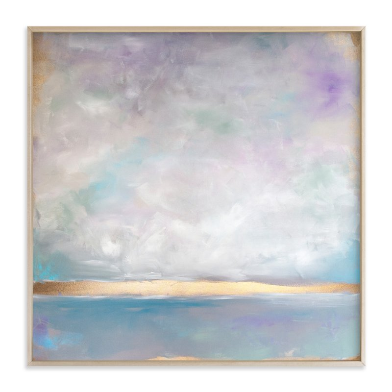 """Lavender Smoke"" - Art Print by Julia Contacessi in beautiful frame options and a variety of sizes."