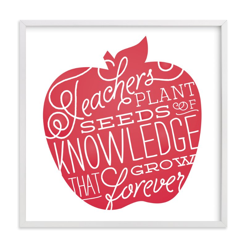 """Seeds of Knowledge"" - Art Print by Jessie Steury in beautiful frame options and a variety of sizes."