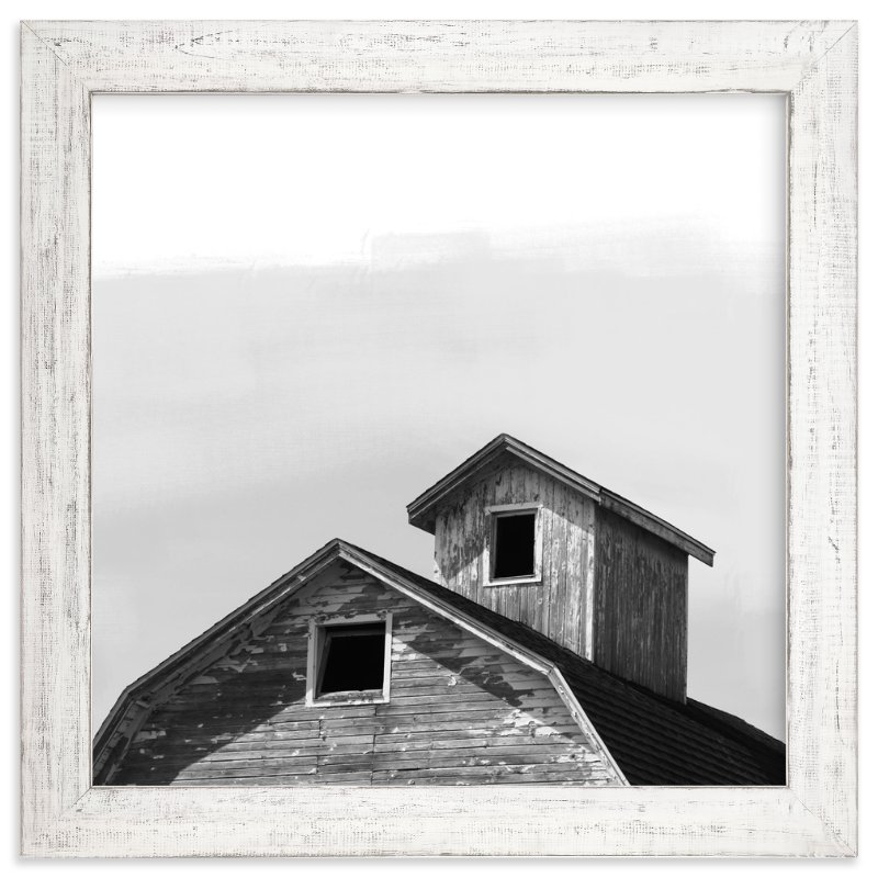 """""""Salvage Slate Barn Series 3"""" - Art Print by That Girl Studio in beautiful frame options and a variety of sizes."""