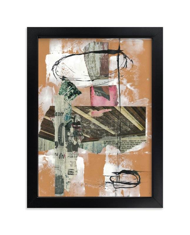 """""""First Rodeo"""" - Art Print by Misty Hughes in beautiful frame options and a variety of sizes."""