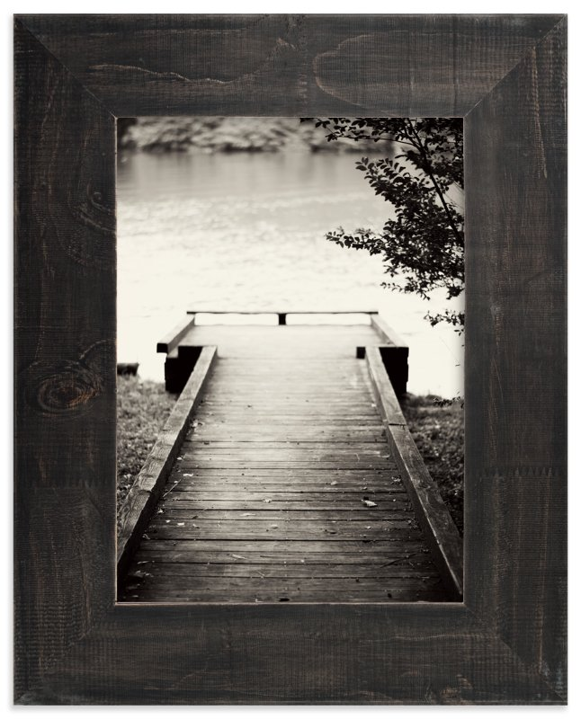 """The Dock"" - Art Print by Noah and Olivia in beautiful frame options and a variety of sizes."