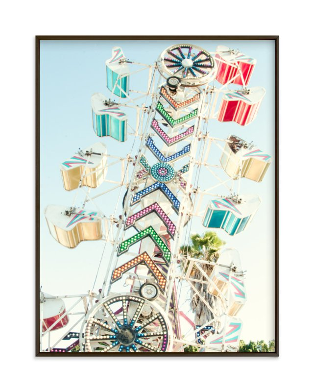"""""""La Cremallera"""" - Art Print by Asha Nahas in beautiful frame options and a variety of sizes."""