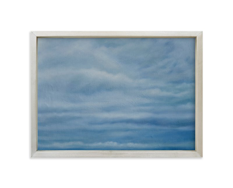 """Incoming Squall, Jetties Beach"" - Art Print by Kelly Money in beautiful frame options and a variety of sizes."
