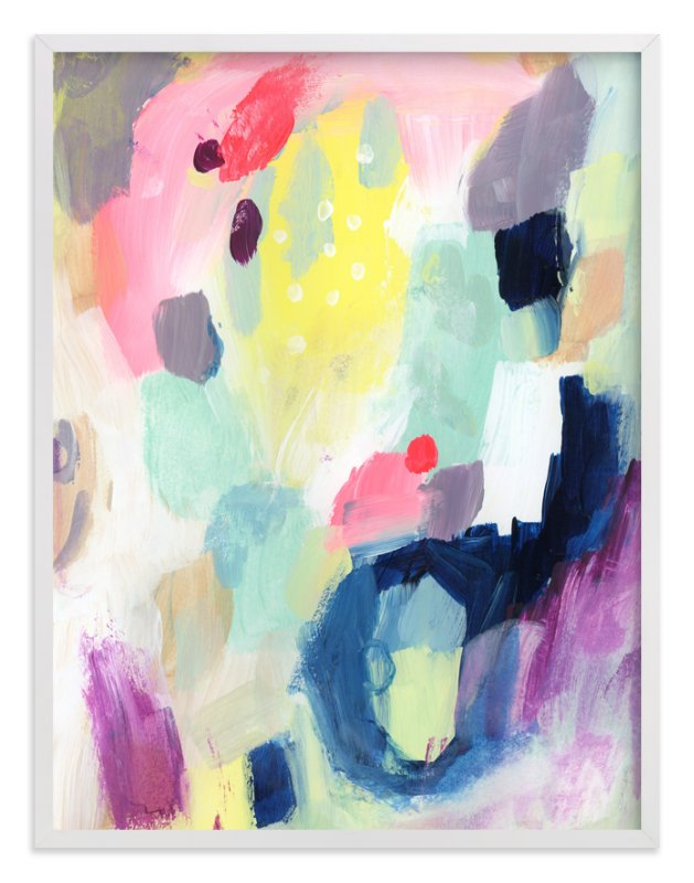 """""""Sundae"""" - Art Print by Lindsay Megahed in beautiful frame options and a variety of sizes."""