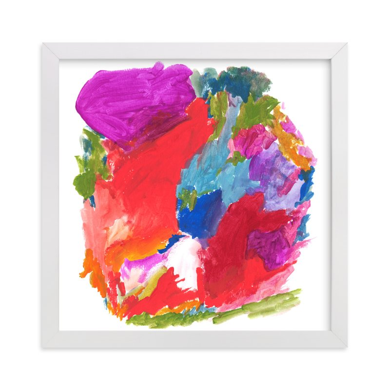 """""""Carnival Colors"""" - Art Print by Lisa McLean in beautiful frame options and a variety of sizes."""