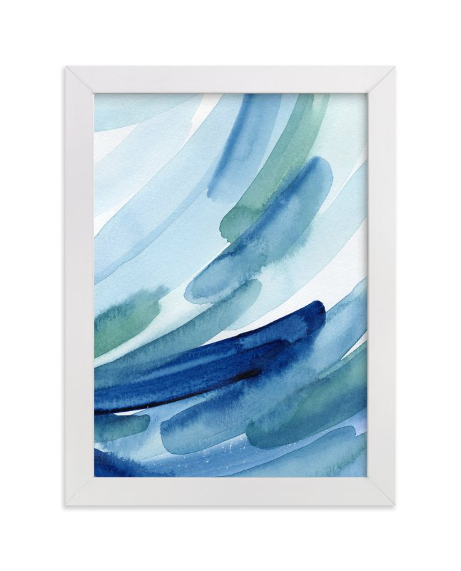 """""""Rain Series l"""" - Art Print by Chelsey Scott in beautiful frame options and a variety of sizes."""