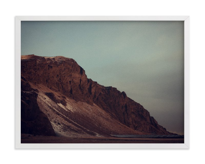 """""""The Purple Mountains"""" - Art Print by Casey Fyfe in beautiful frame options and a variety of sizes."""