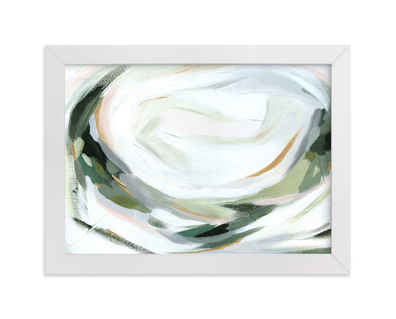 """""""Abstract Laurel"""" - Art Print by Melanie Severin in beautiful frame options and a variety of sizes."""