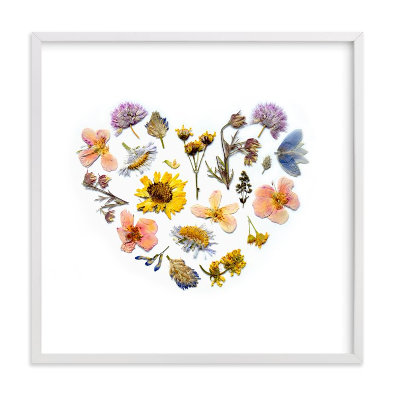 """Spring Love"" - Art Print by Shannon in beautiful frame options and a variety of sizes."