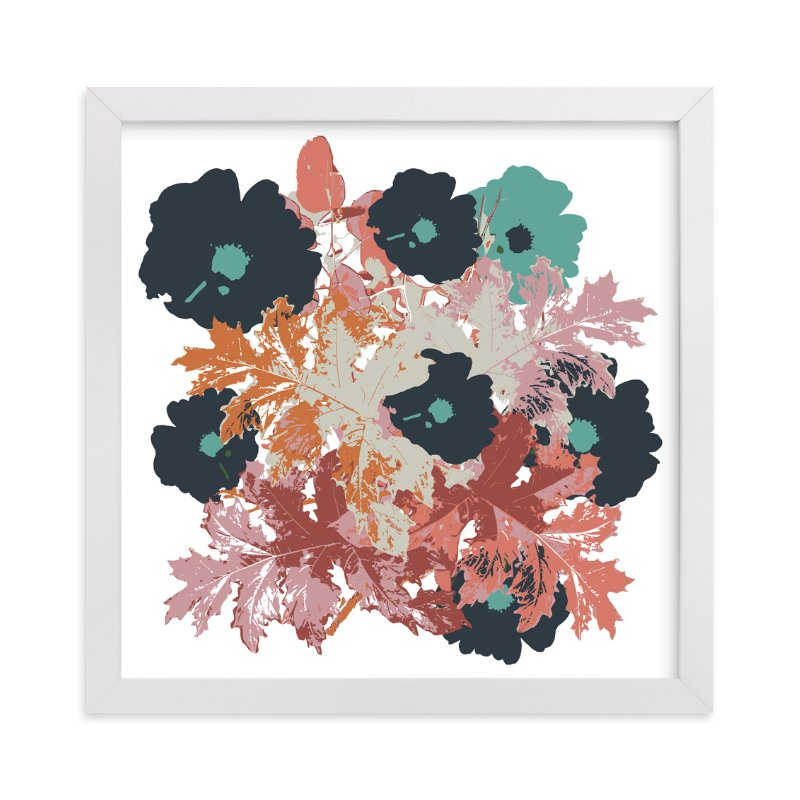 """Fall Bouquet"" - Art Print by Bethania Lima in beautiful frame options and a variety of sizes."