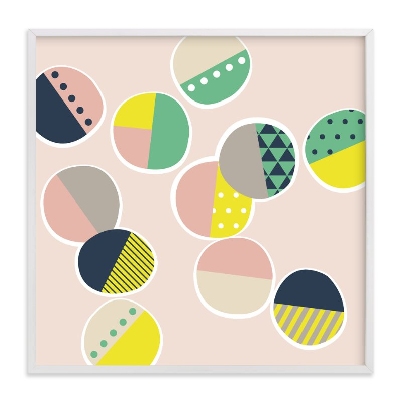 """Jamboree Polka Dots"" - Art Print by Two if by Sea Studios in beautiful frame options and a variety of sizes."