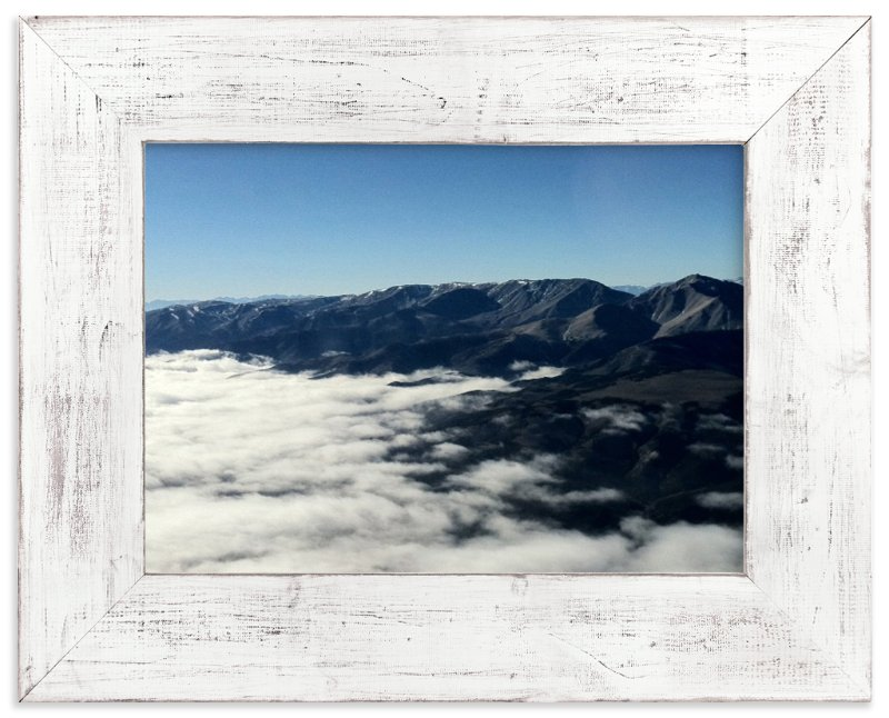 """""""White Mountains"""" - Art Print by Jeff Vilkin in beautiful frame options and a variety of sizes."""