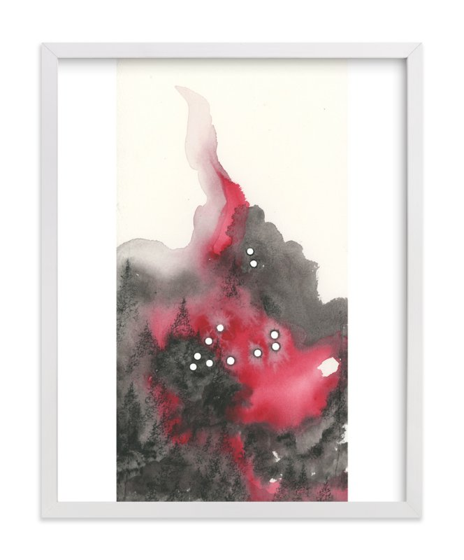 """""""Capricorn Constellation"""" - Art Print by Emily Magone in beautiful frame options and a variety of sizes."""