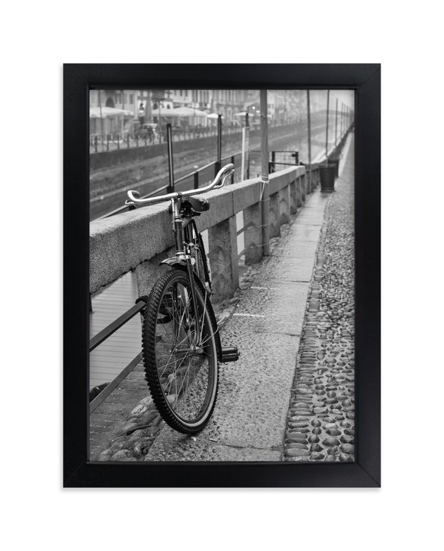 """Stopover"" - Art Print by Mark Kirby in beautiful frame options and a variety of sizes."
