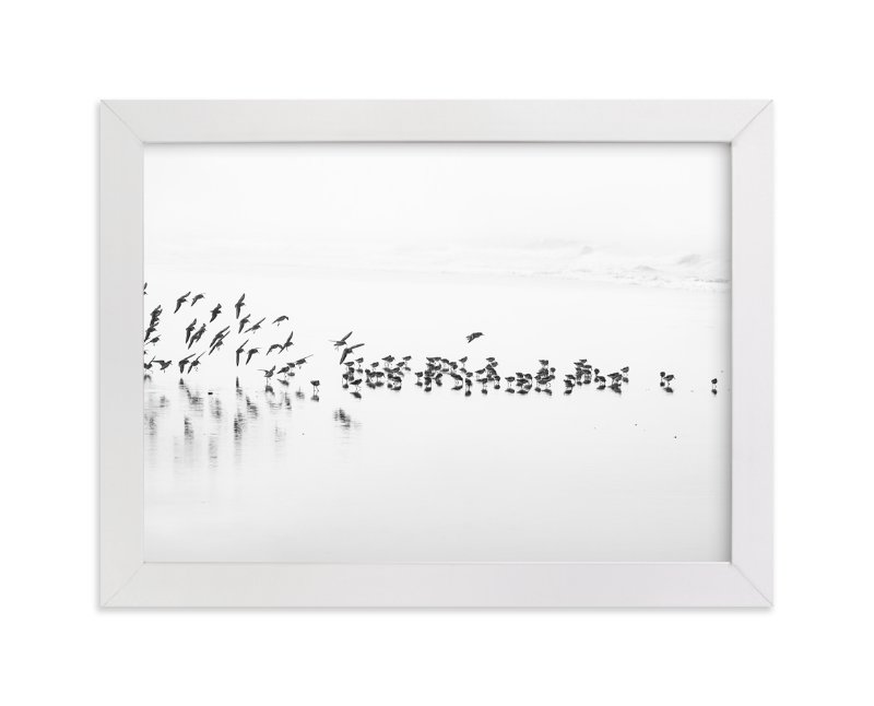 """""""Flocking"""" - Art Print by Stephanie Sherman in beautiful frame options and a variety of sizes."""