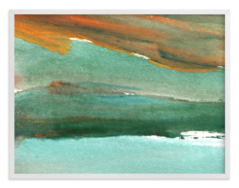 """""""watercolor abstract painting4"""" - Art Print by aticnomar in beautiful frame options and a variety of sizes."""