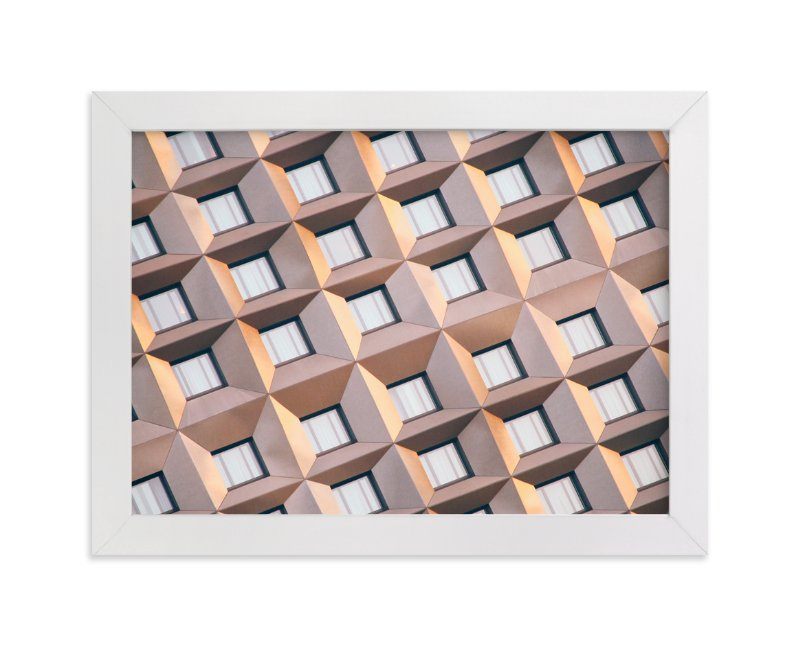 """""""Urban Palette - Muted Lines"""" - Art Print by lulu and isabelle in beautiful frame options and a variety of sizes."""