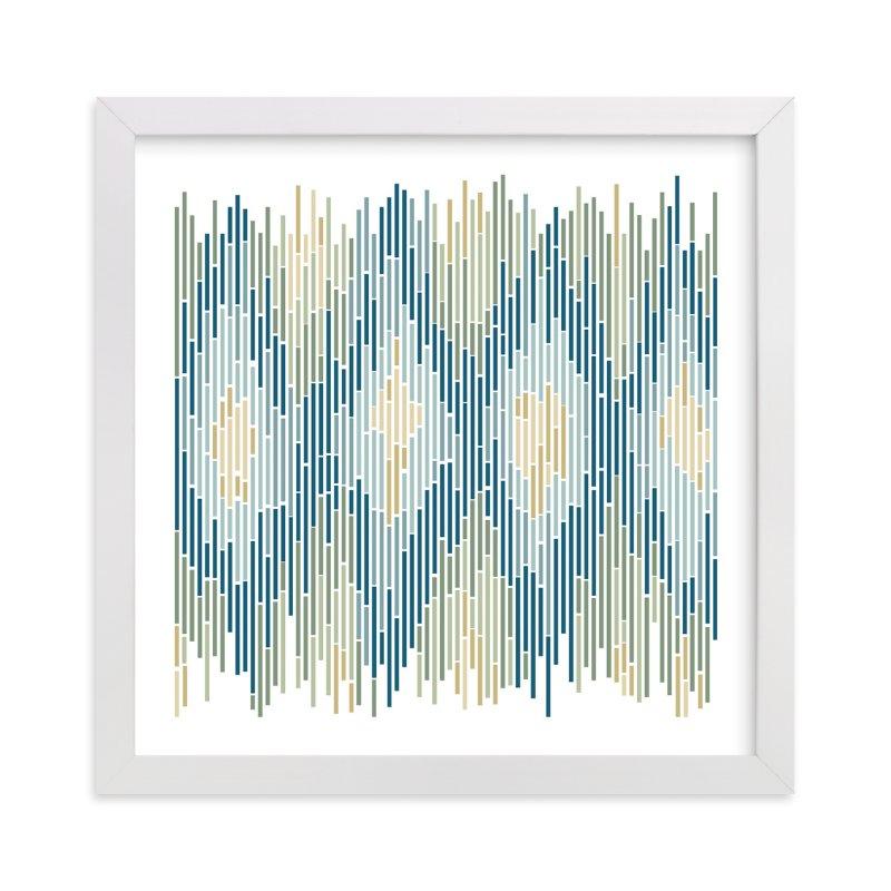 Mosaic Ikat Wall Art Prints by Erin Deegan | Minted