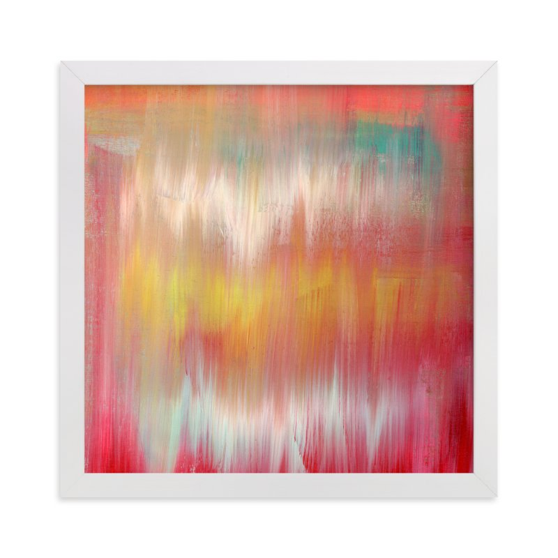 """Colorfall"" - Art Print by Lindsay Megahed in beautiful frame options and a variety of sizes."