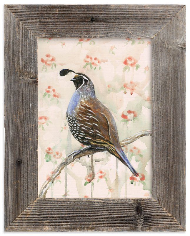 """Perciville Plume"" - Art Print by Rebecca Weller in beautiful frame options and a variety of sizes."