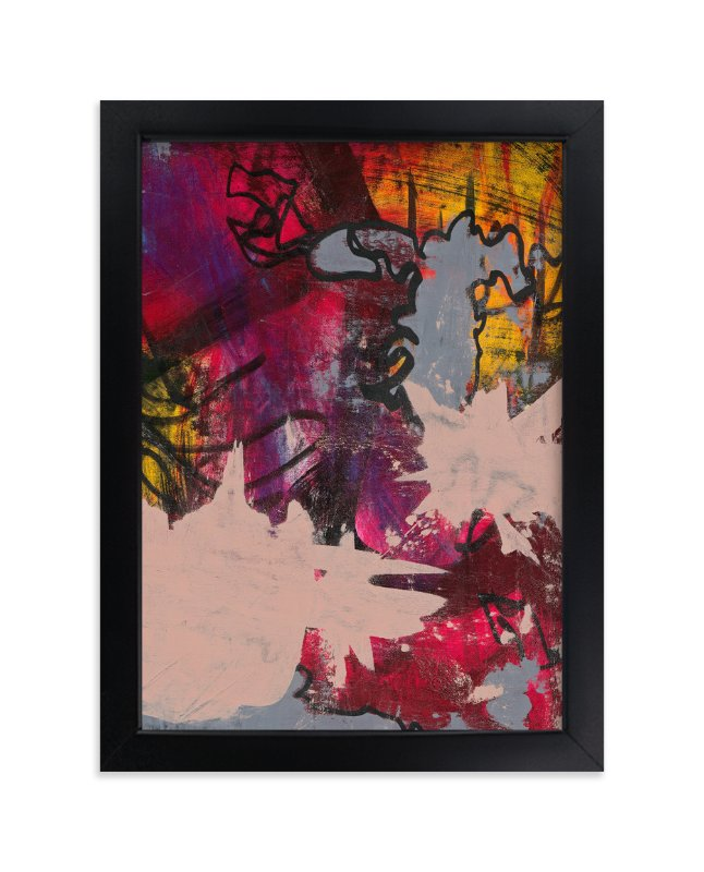 """Upstart Series 5"" - Art Print by Angela Simeone in beautiful frame options and a variety of sizes."
