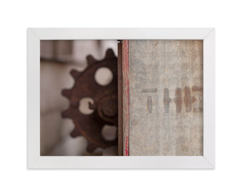 """""""The Cogwheel"""" - Art Print by That Girl Studio in beautiful frame options and a variety of sizes."""