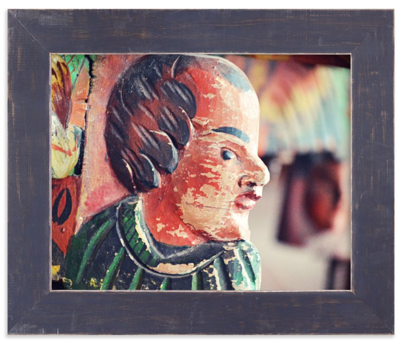 """""""Sideways Glance"""" - Art Print by Noah and Olivia in beautiful frame options and a variety of sizes."""